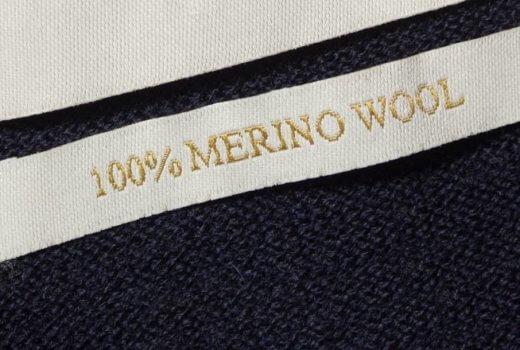 Merinowolle Schuhe und Sneaker aus Merino (Etikett)
